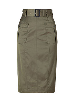Fashion casual tooling skirt