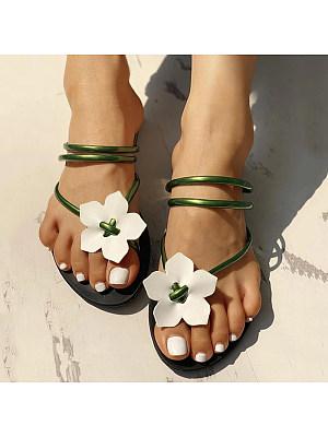 Summer Toe Sandals Flat Fashionl shoes, 11298120