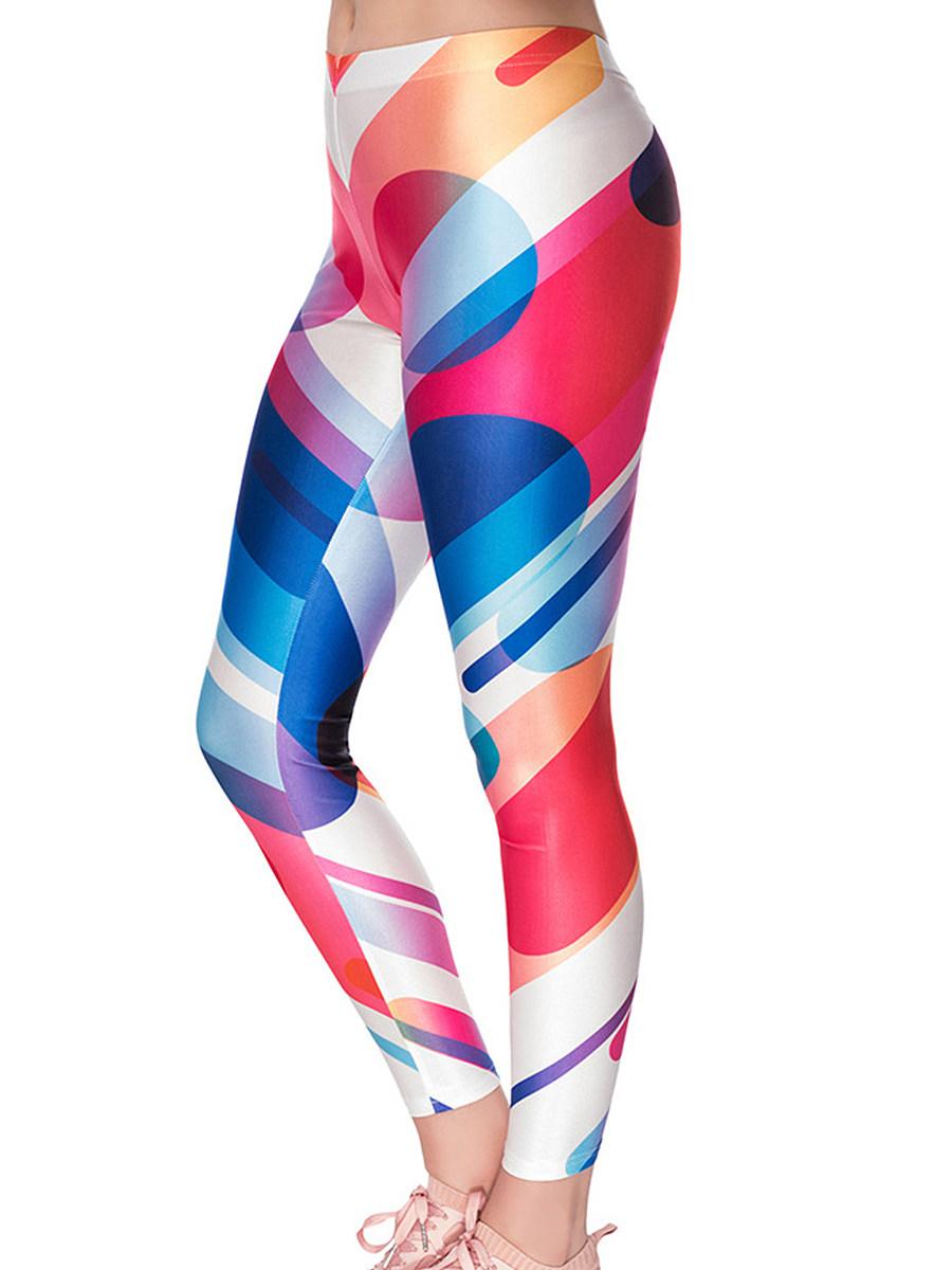 BerryLook Fashion casual printed leggings