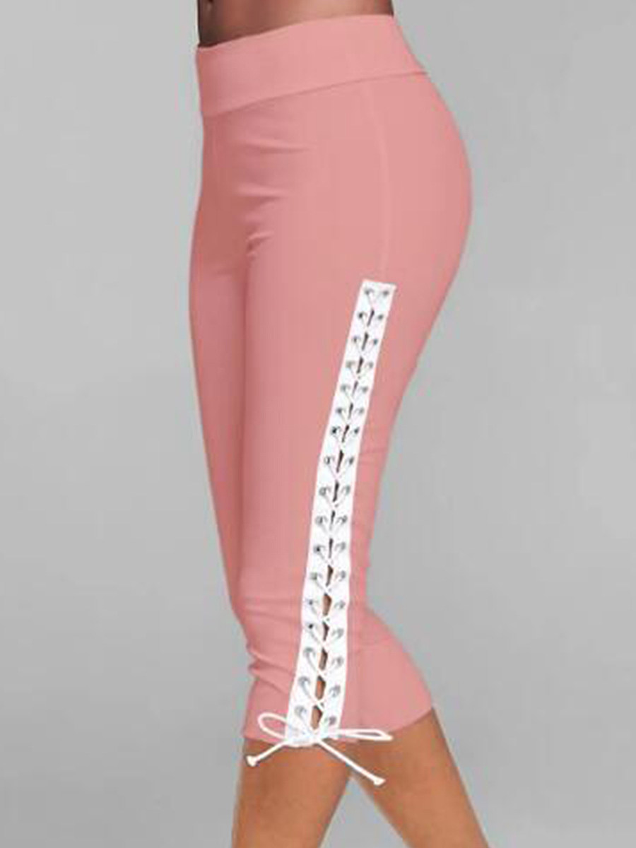 Slim-fit track pants leggings