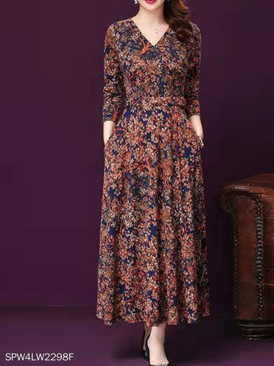 Floral Dress Big Swing