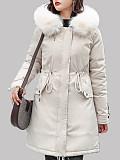 Image of Lamb Wool Padded Coat
