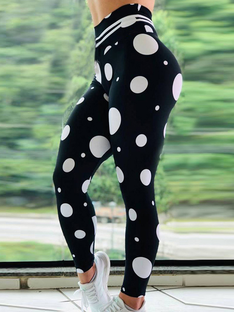 BerryLook Fashion printed sports leggings yoga pants