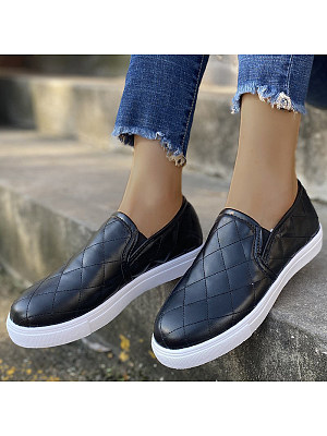 Women's Comfortable Round Toe Flat Shoes, 24895532