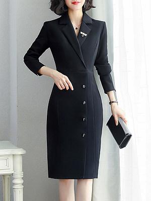 V Neck Plaid Bodycon Dress, 10072084