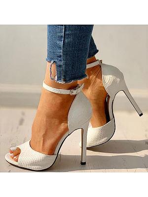 Fashion high heel fish mouth sandals, 11229443