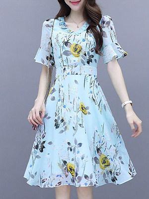 Berrylook Mid-length Dress shoppers stop, online shopping sites, shift dress, floral shift dress