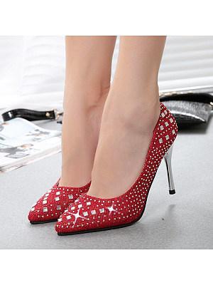 Stylish and sweet elegant stiletto heels, 11229308