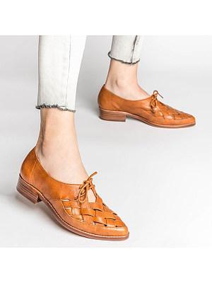 Women's low heel strap casual shoes, 24052046