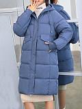 Image of Down Padded Coat Plus Size Padded Coat