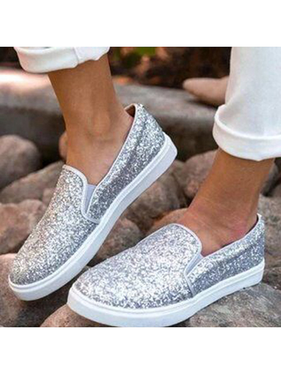 Women's one-pedal fashion sneakers