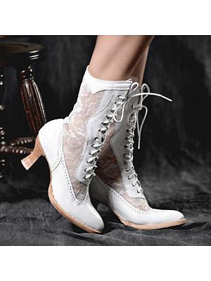 Women's fashion heeled women's boots, 24395870