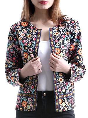 Printed jacket фото