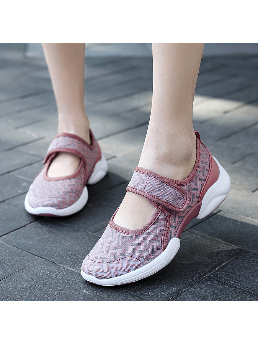 Breathable soft-soled mesh lightweight sneakers