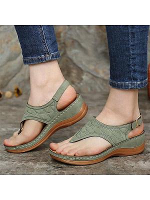 Women's fashion comfortable wedge sandals, 24085596